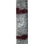 Oviverho 200x56cm harmaa/viininpunainen